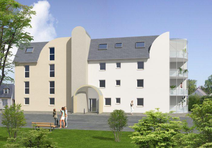 Appartement neuf T3 à Mélesse (35520) - Vue 1