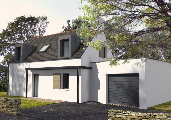 Maison neuve T5 à Bénodet (29950) - Vue 1