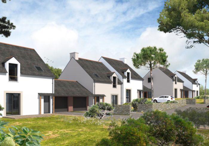 Programme immobilier neuf à SAINT COULOMB (35350) - vue 1