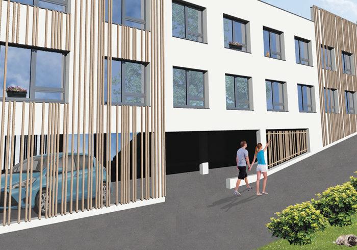 Appartement neuf T1 à saint brieuc (22000) - Vue 2