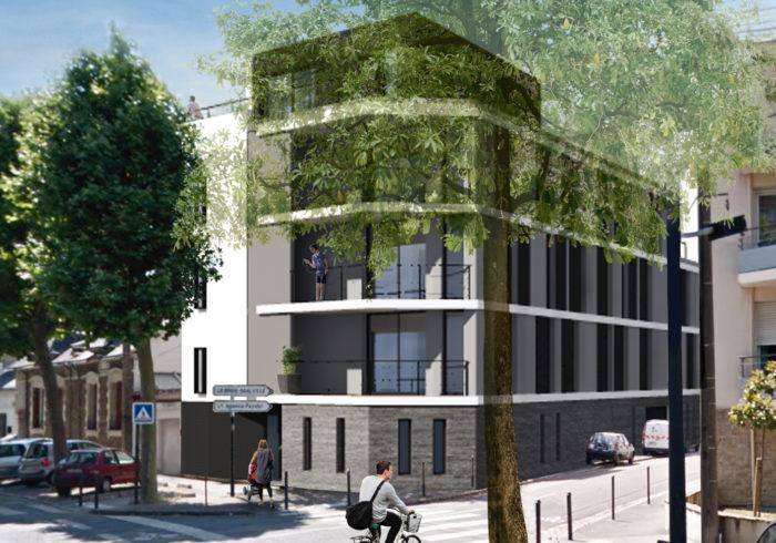 Appartement neuf T3 à nantes (44000) - Vue 1