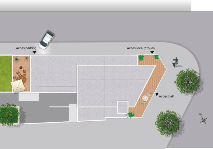 Appartement neuf T3 à nantes (44000) - Vue 3
