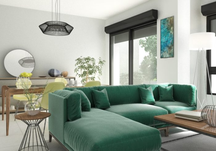Appartement neuf T3 à Lanester (56600) - Vue 4