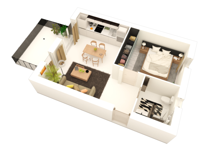 Programme immobilier neuf à elven (56250) - vue 2