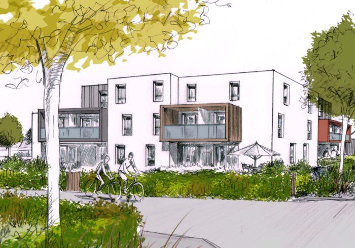Appartement neuf T3 à Lanester (56600) - Vue 2