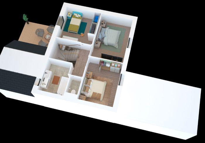 Maison neuve T5 à quiberon  (56170) - Vue 5