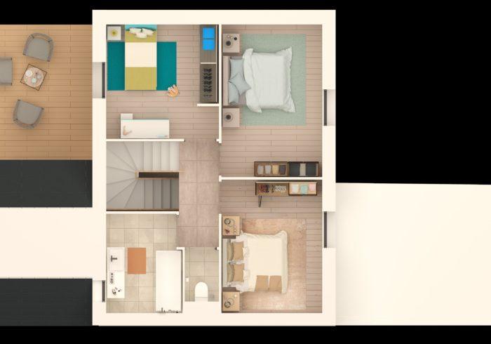 Maison neuve T5 à quiberon  (56170) - Vue 3