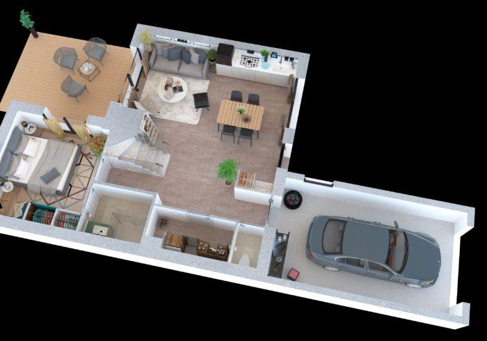 Maison neuve T5 à quiberon  (56170) - Vue 4
