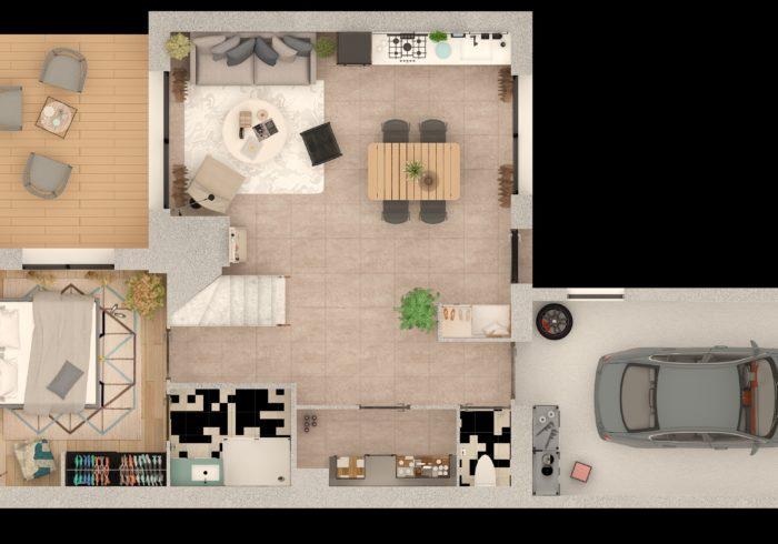 Maison neuve T5 à quiberon  (56170) - Vue 2