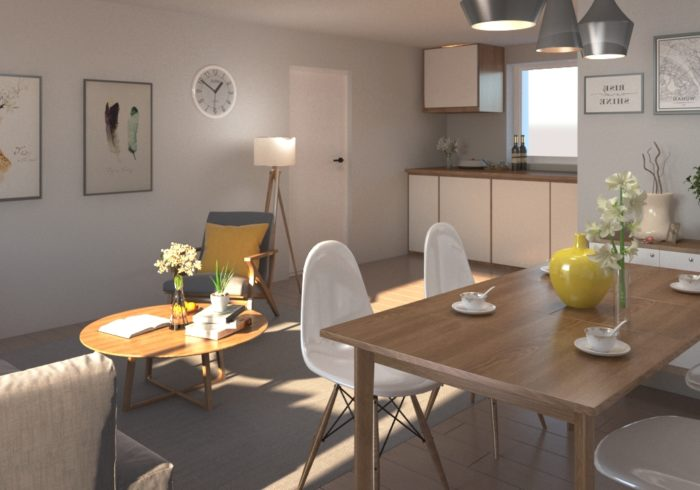 Appartement neuf T3 à bouaye () - Vue 2