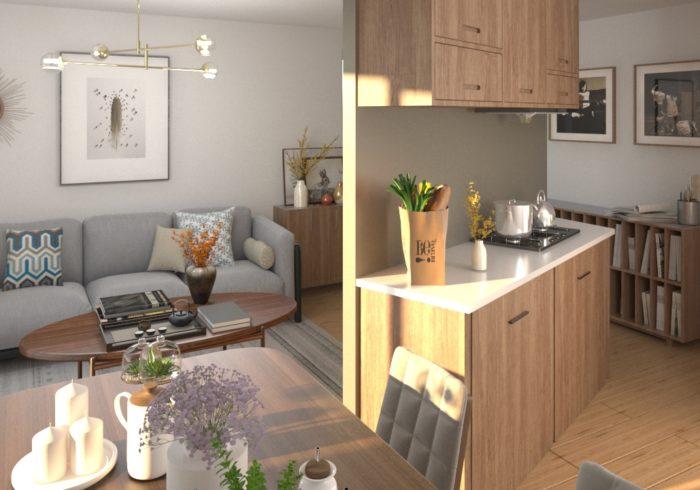 Appartement neuf T3 à bouaye () - Vue 3