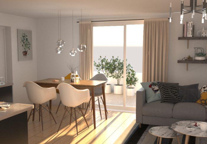 Appartement neuf T3 à bouaye () - Vue 6