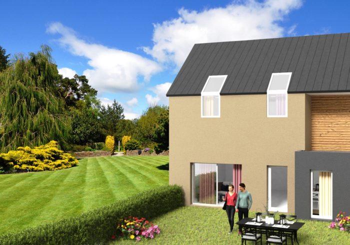 Maison neuve T4 à Brest (29200) - Vue 1
