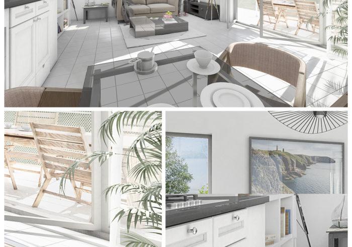 Appartement neuf T3 à SAINT MARC SUR MER (44600) - Vue 6