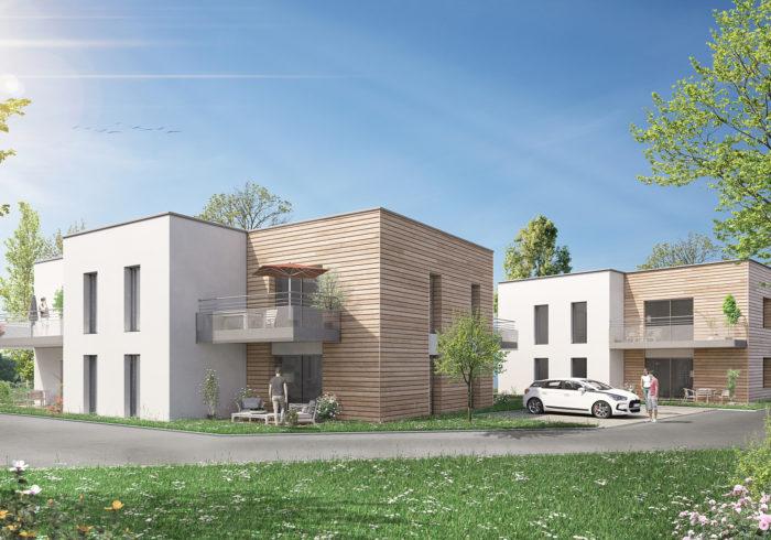 Appartement neuf T3 à SAINT MARC SUR MER (44600) - Vue 1