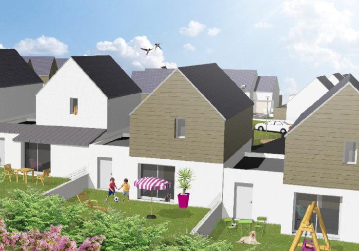 Maison neuve T4 à PLUGUFFAN (29700) - Vue 1