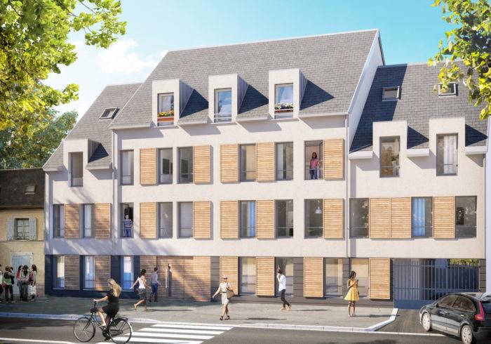 Programme immobilier neuf à etampes (91150) - vue 2