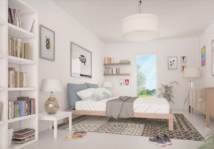 Appartement neuf T3 à HAUTE-GOULAINE (44115) - Vue 3