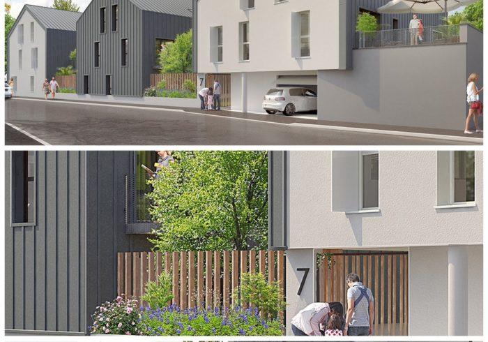 Appartement neuf T3 à HAUTE-GOULAINE (44115) - Vue 1