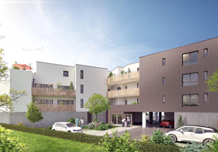 Appartement neuf T2 à saint nazaire () - Vue 1