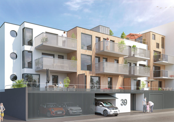 Appartement neuf T3 à Brest (29200) - Vue 2
