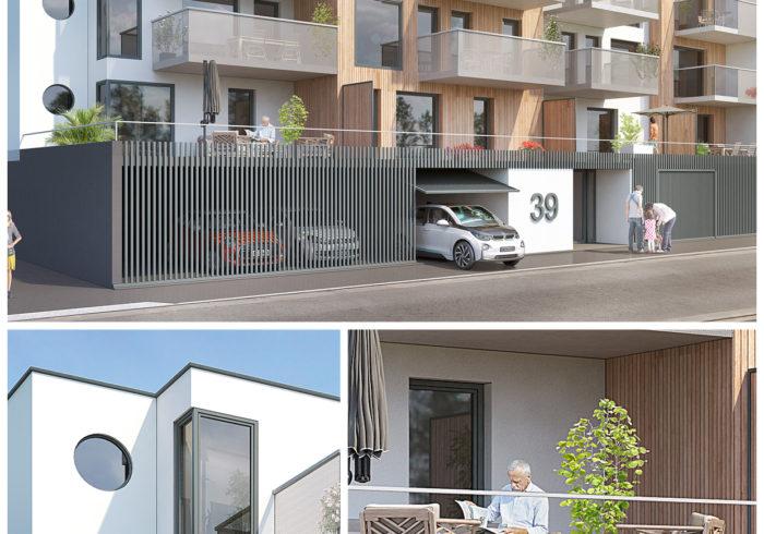 Appartement neuf T3 à Brest (29200) - Vue 1