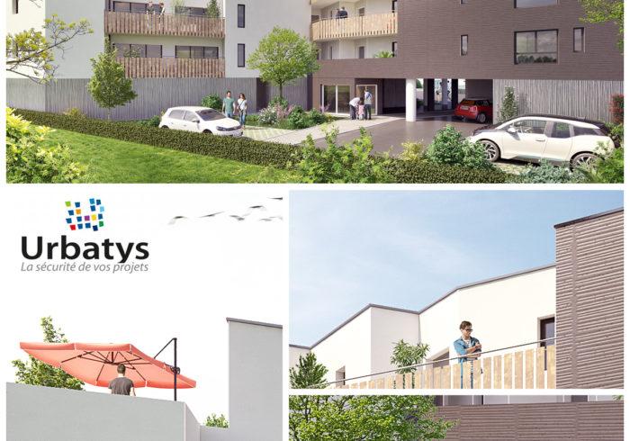 Appartement neuf T2 à saint nazaire () - Vue 2